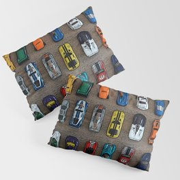 1980's Toy Cars Pillow Sham