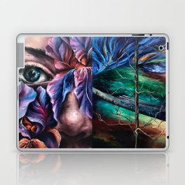 Painting Collage Laptop & iPad Skin