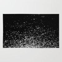 murakami Area & Throw Rugs featuring infinity by Bunny Noir