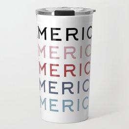 America T-Shirt Travel Mug