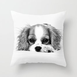 Angelic Cavalier Throw Pillow