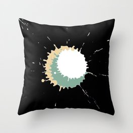 Ink explosion Throw Pillow