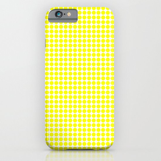 YELLOW DOT iPhone & iPod Case