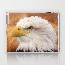Bald Eagle Portrait Laptop & iPad Skin