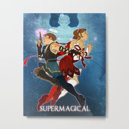 Supermagical Metal Print