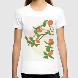 Orange Tree Branch T-shirt