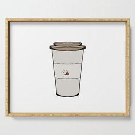 Funny coffee mug Serving Tray