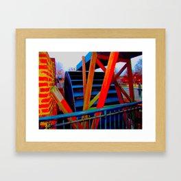 ironworks 2 Framed Art Print