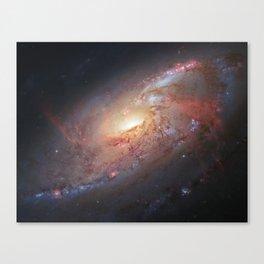 Spiral Galaxy M 106 Canvas Print