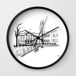 hornsey town hall, crouch end Wall Clock