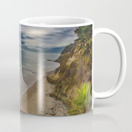 View from the Stairs at Swami's, Encinitas, California Coffee Mug