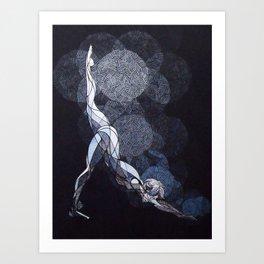 July - Moonrise Art Print