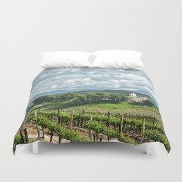 Vineyards, Temecula, CA Duvet Cover