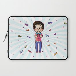 Bow Tie Day Laptop Sleeve