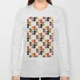 Retro geometry pattern Long Sleeve T-shirt
