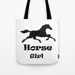 Horse Girl Gifts For Horses Riding Gift Tote Bag