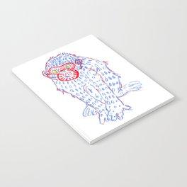Blue monkey Notebook