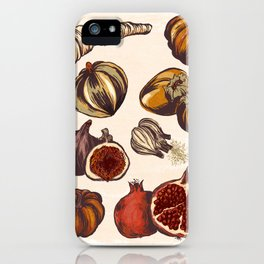 Fall Produce iPhone Case