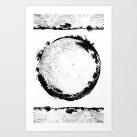 Coachella Valley Desert Sphere Tee Art Print