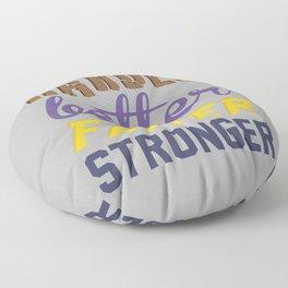 Harder Better Faster Stronger Floor Pillow