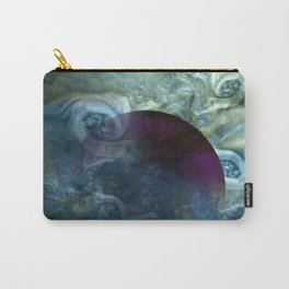 """Blue clouds on Saturn"" Carry-All Pouch"