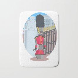 Queen's Beep Boop Guard Bath Mat