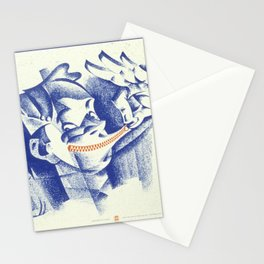 Vintage poster - Loose lips Stationery Cards