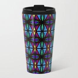 Purple and Blue Diamonds Travel Mug
