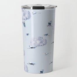 Blue Heron Skies Travel Mug