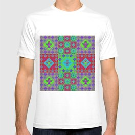 Indian patchwork31 T-shirt