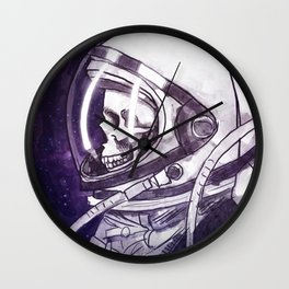 Skelenaut II Wall Clock