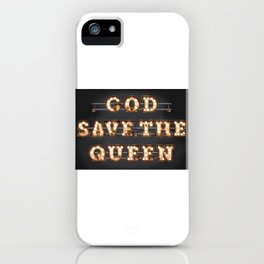 God save the Queen iPhone Case