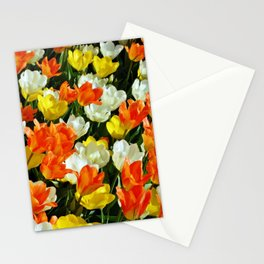 White Orange and Yellow, Oh My Stationery Cards