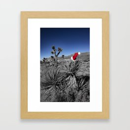 Holiday Cheer | Joshua Tree National Park Framed Art Print
