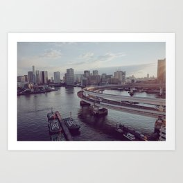 Tokyo Bay Art Print