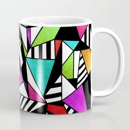 Geometric Multicolored Coffee Mug