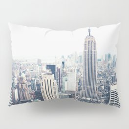 New York City and the Empire State Building Pillow Sham