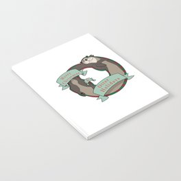 And Otter Holidays Notebook