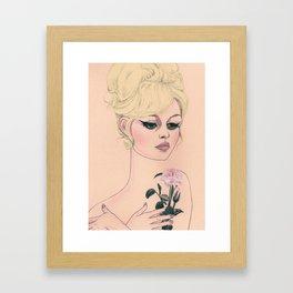 Brigitte Bardot IV Framed Art Print