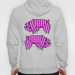Origami Pig Hoody