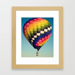 checkered Framed Art Print