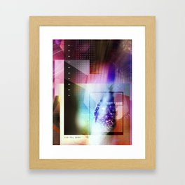 digital buds 1 Framed Art Print