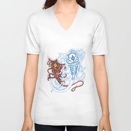 Raava and Vaatu Unisex V-Neck