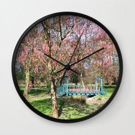 Ashleaf Maple Wall Clock