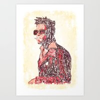tyler oakley Art Prints featuring Tyler by Fimbis
