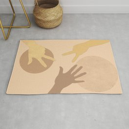To play together Rug