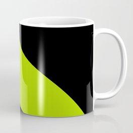 Simple Waves - Lime Green Coffee Mug