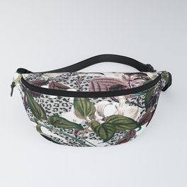 Wild Blooming in the Jungle Fanny Pack