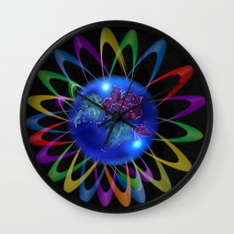 Abstract in Perfection - Rose 3 Wall Clock
