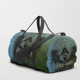 Pirate design, a pirate's life for me Duffle Bag